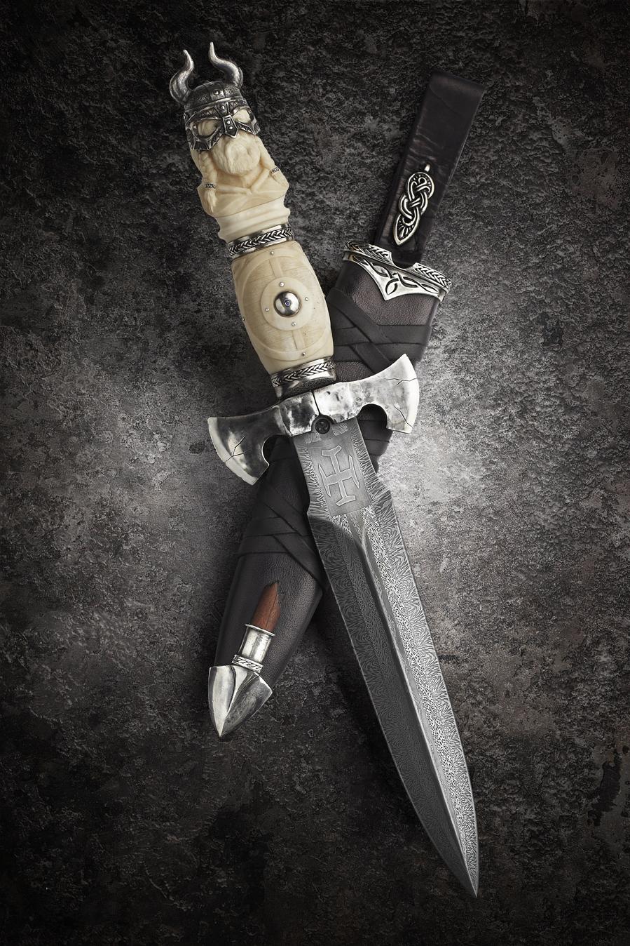 Фото красивейших авторских ножей 2