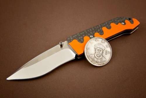 2-1_Journeyman, w 3.5'' Blade Orange & Black G10 Scales.jpg