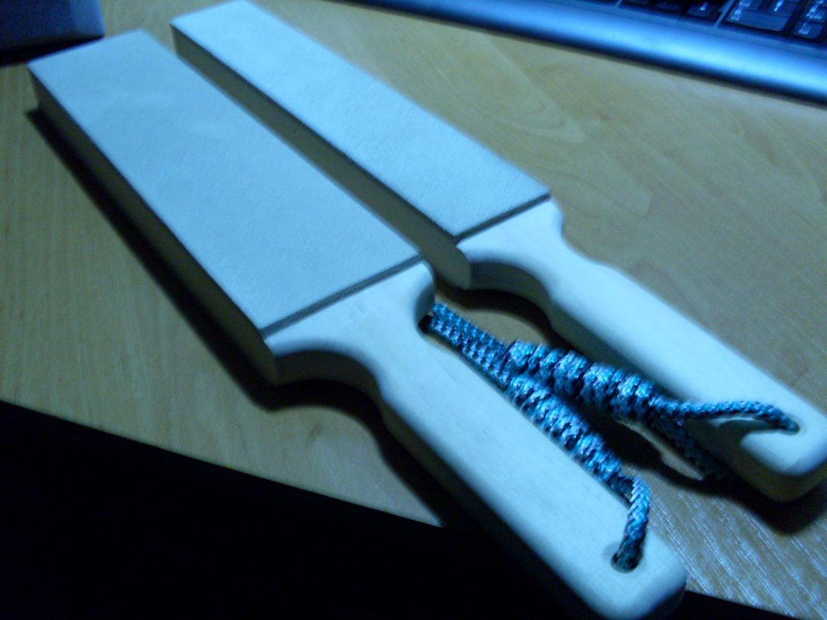 Кожа для правки ножей своими руками