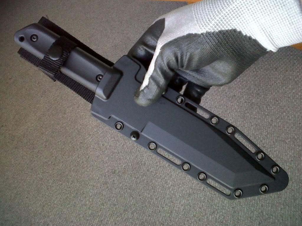 Изготовление пластиковых ножен своими руками. BARONUS