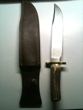 Gerber Bowie Knife Utility Stag Handle 1.jpg