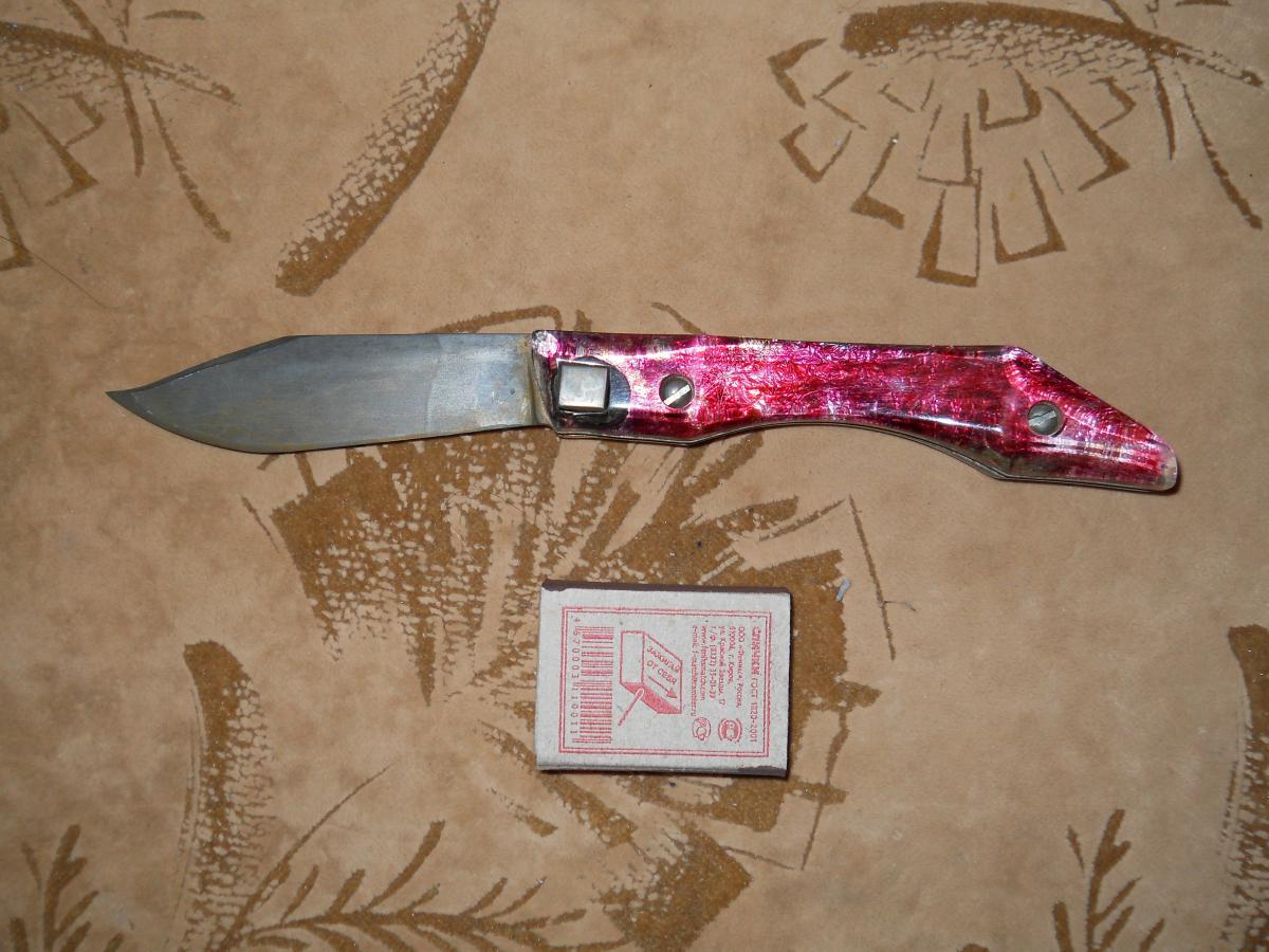 Выкидные ножи сделать своими руками 79