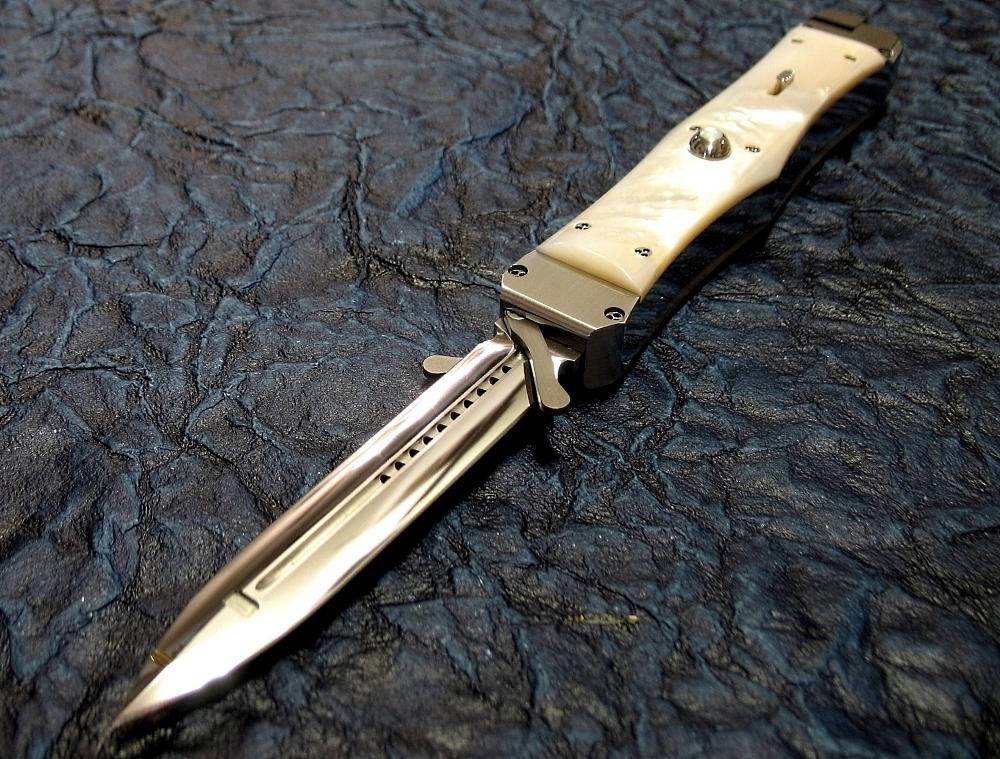 Покажите как сделать крутой нож