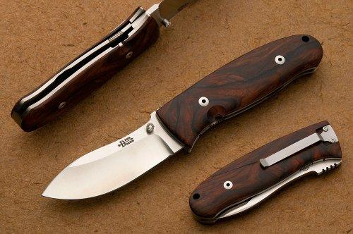 Bob Dozier (Dozier Knives) - Nesmuk Style Skinner, Cocobolo.jpg