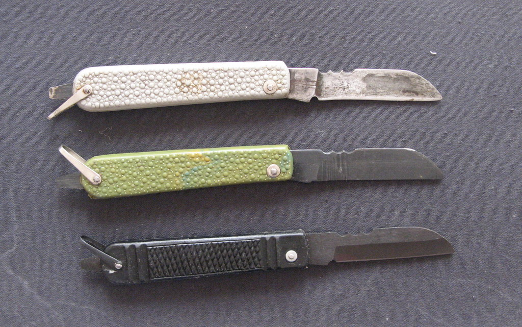 Нож связиста немцовки