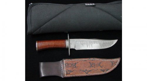 Keith Kilby Damascus & Ironwood Bowie 1.jpg