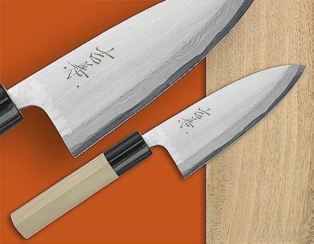 Yoshikane (Tsuneo Yoshida) - 5'' Damascus Aji Knife.jpg