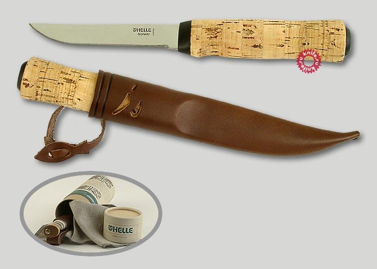 Сделать ручку для ножа из пробки