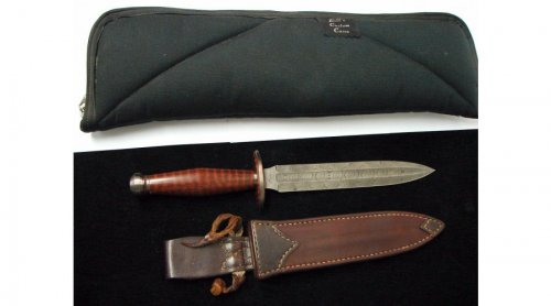 Scott Cook Damascus and Snakewood Dagger 1.jpg