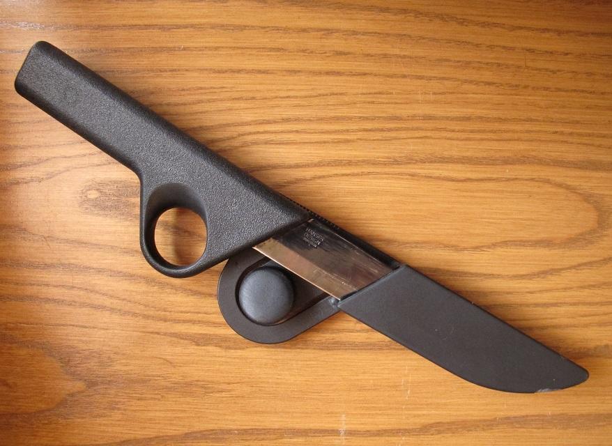Как сделать кнопочный ножик