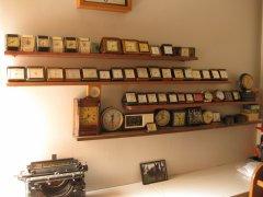 Travel alarm clocks.