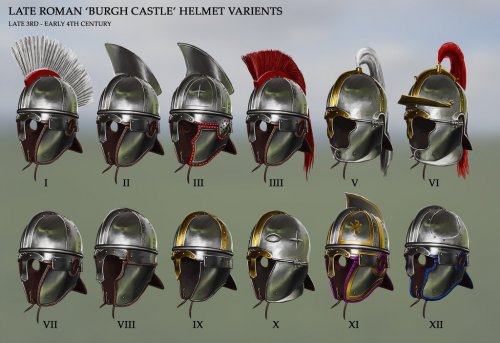 late_roman__burgh_castle__helmet_varients_by_robbiemcsweeney-d9r7pgk.jpg