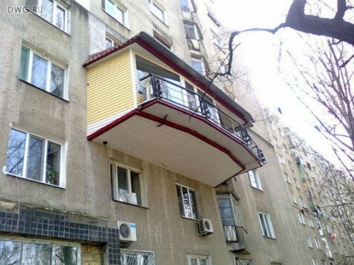 Русские балконы самые крутые балконы в мире - фото.