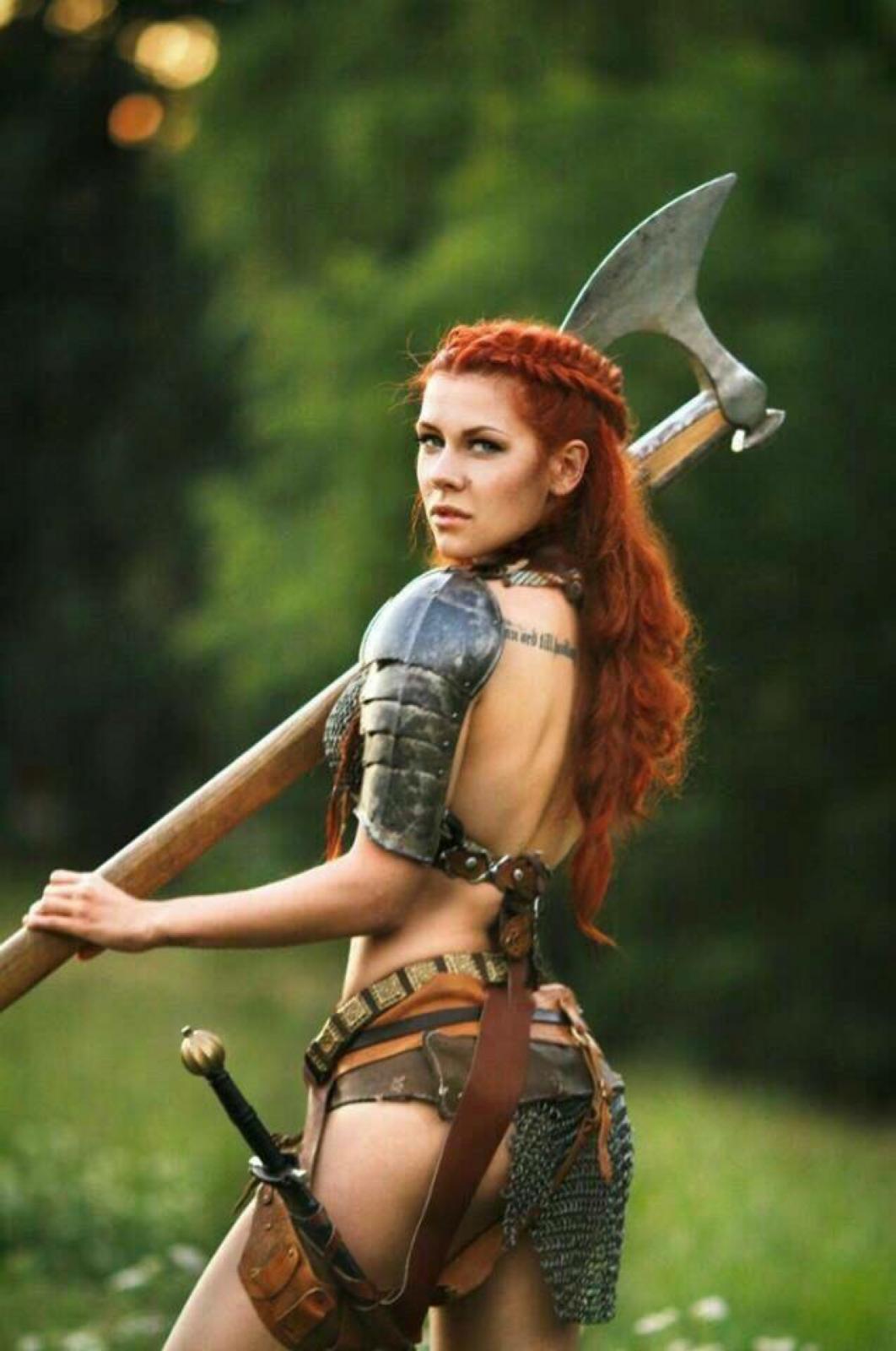Warrior women nude foto blog nackt clip