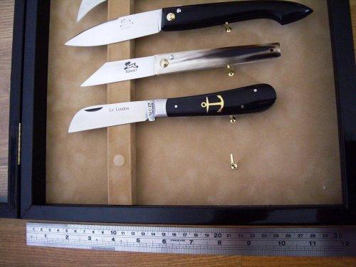 Как сделать витрину для ножей
