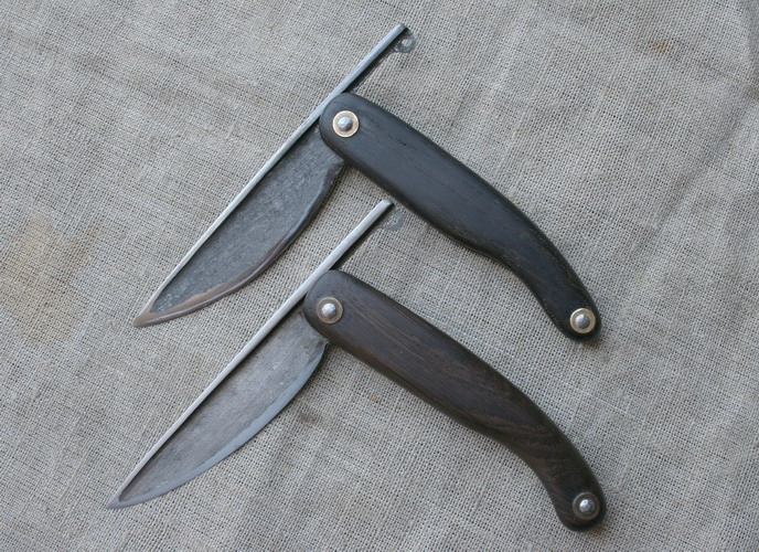 Нож из косы как сделать