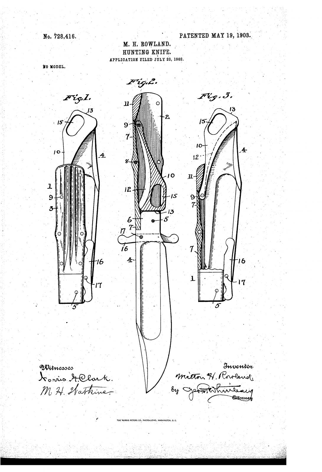 Схема и устройство выкидного ножа с