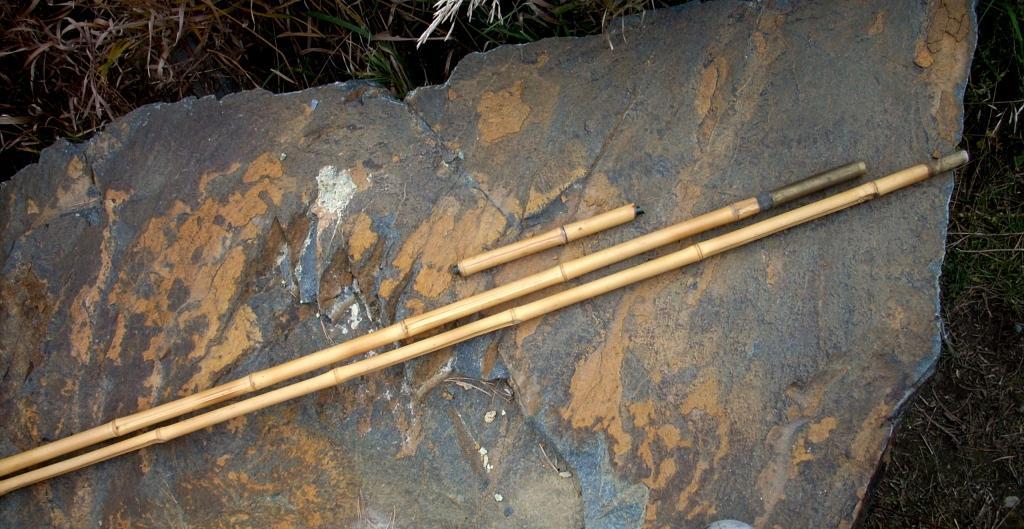 Как сделать удочку бамбуковую