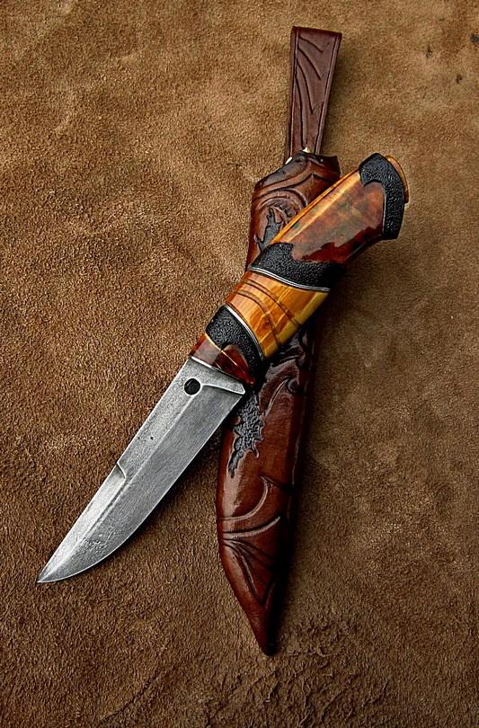 Красивая рукоять для ножа