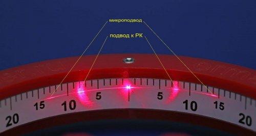 Goniometer лазерный угломер для измерения углов заточки