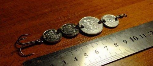 приманки из монет