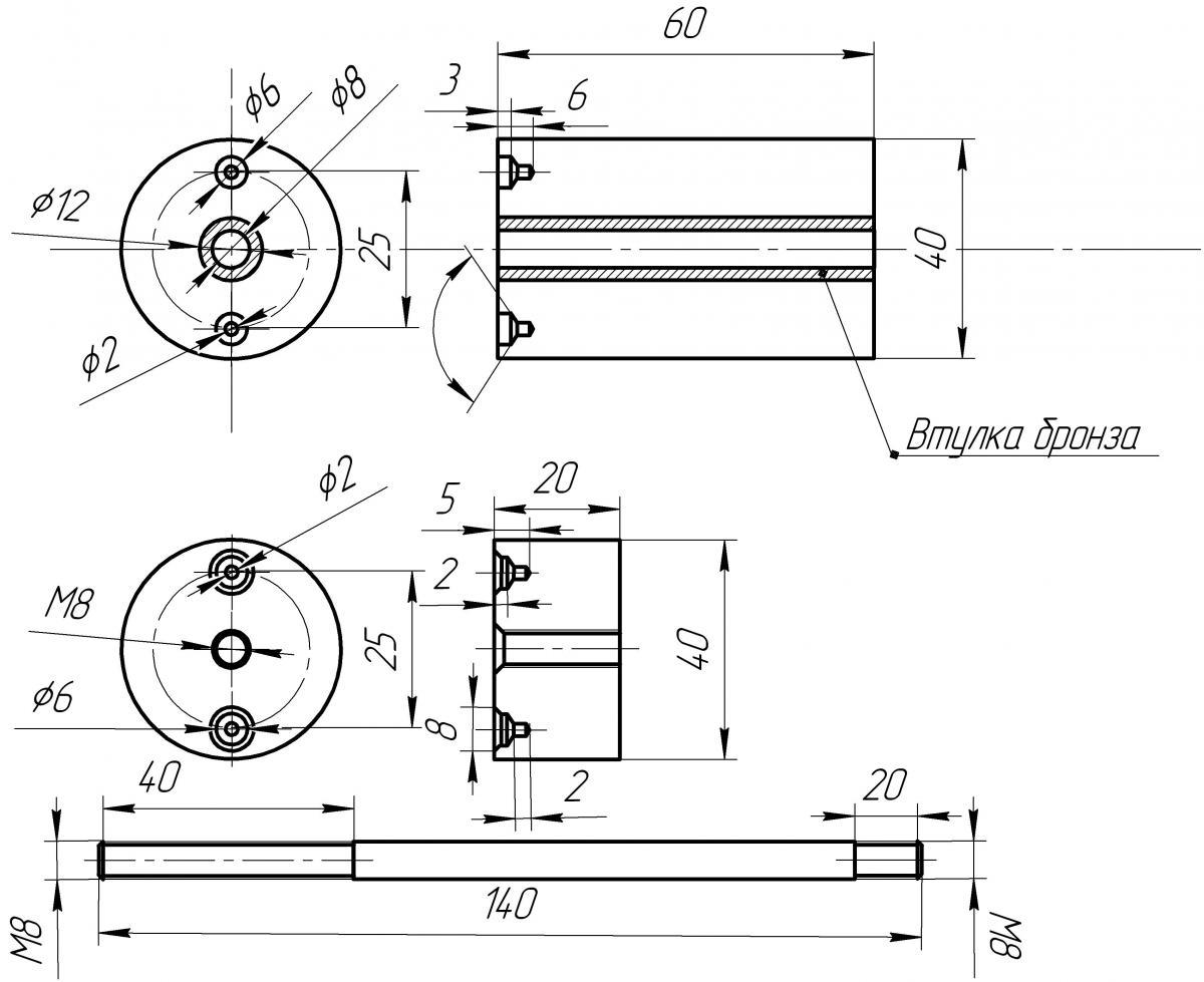 Точилки для ножей ручные чертежи