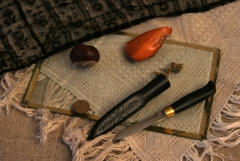 фото прибалтийской мини финки. ножны мои.