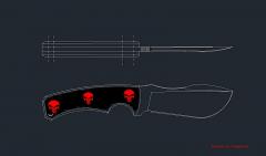 Нож Армагеддон 2012 эскизы