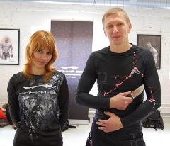 Сергей Утробин и Анюта
