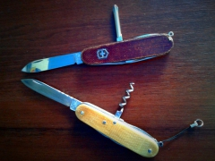 Victorinox Tinker and Spartan